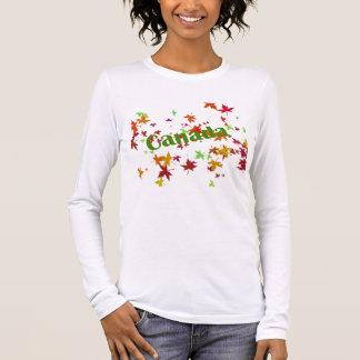 Oh Kanada! Langarm T-Shirt