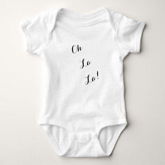 Oh Lala!  Für Baby Baby Strampler