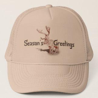 Oh meine Deer~ frohen Weihnachten! | Truckerkappe