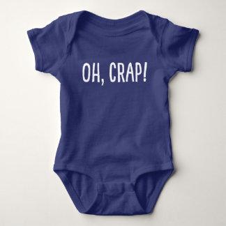 Oh, Mist! (Ich bin! geklont worden) Baby Strampler