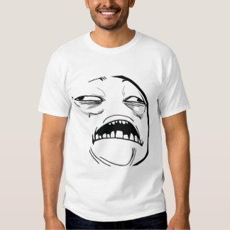 Oh süßer Jesus, der gutes Raserei-Gesicht Meme ist Hemden