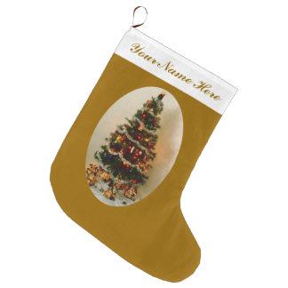 Oh, Weihnachtsbaum-großer Strumpf Großer Weihnachtsstrumpf