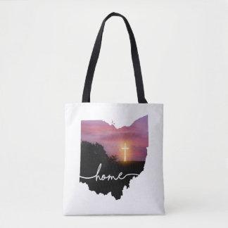 Ohio ist Zuhause…. Sonnenuntergang-Kreuz Tasche