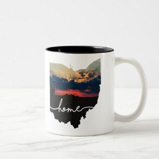 Ohio ist Zuhause…. Zweifarbige Tasse