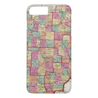 Ohio-Landkreise iPhone 8 Plus/7 Plus Hülle