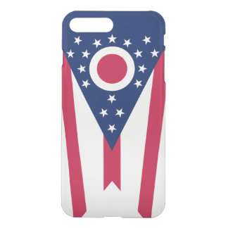 Ohio-Staats-Flagge iPhone 8 Plus/7 Plus Hülle