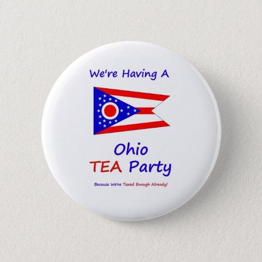 Ohio-TEE Party - uns werden genug bereits Runder Button 5,7 Cm