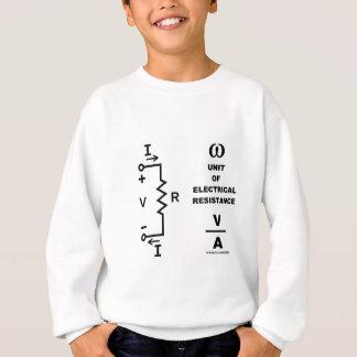 Ohm eine Einheit des elektrischen Widerstands Sweatshirt