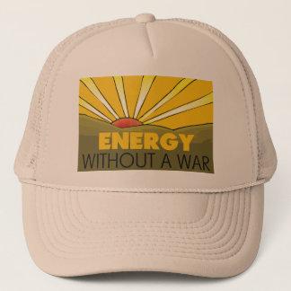 Ohne einen Krieg Solar Truckerkappe