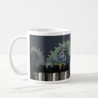 ohne meinen Kaffee bin ich Drache Kaffeetasse