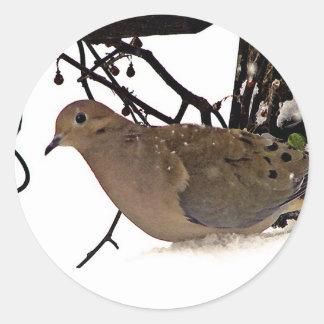 Oiseaux Sticker Rond