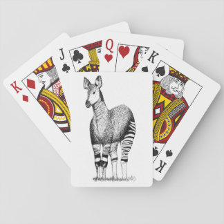 Okapi-Kunst-Spielkarten Spielkarten