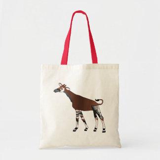 Okapi-Taschen-Tasche Budget Stoffbeutel