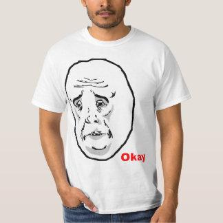 OkayTyp-Raserei-Gesicht Meme Shirts