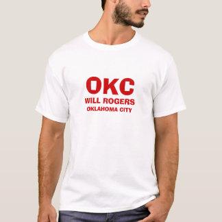 Oklahoma City * Flughafen-Shirt T-Shirt