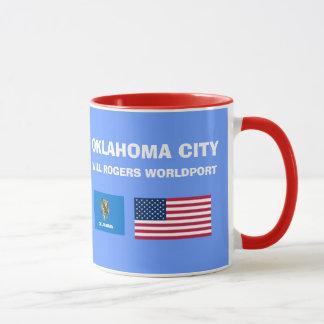 Oklahoma City * OKC Flughafen-Tasse Tasse