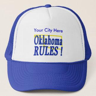 Oklahoma-Regeln! Truckerkappe