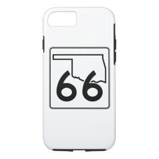 Oklahoma-Staats-Landstraße 66 iPhone 8/7 Hülle