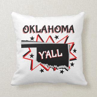 Oklahoma-Staatsstolz Sie Kissen
