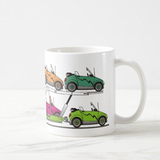 Öko-Auto-Fördermaschine Kaffeetasse