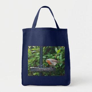 Öko-Lebensmittelgeschäft-Tasche: Britischer Robin Tragetasche