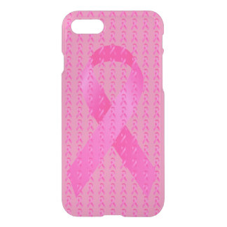 Oktober-Brustkrebs-Bewusstseins-Monats-Rosa-Band iPhone 8/7 Hülle