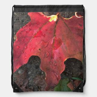 Oktober-Sonnenaufgang Turnbeutel