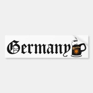 Oktoberest Bier Stein Autoaufkleber