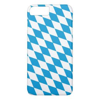 Oktoberfest, Bayern-Farben iPhone 8 Plus/7 Plus Hülle