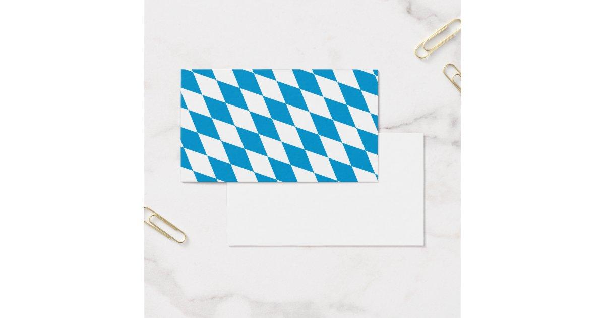 oktoberfest bayern farben visitenkarte zazzle. Black Bedroom Furniture Sets. Home Design Ideas