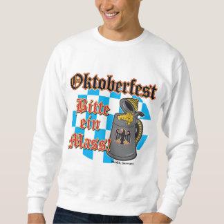 Oktoberfest Bitte ein Masse Sweatshirt
