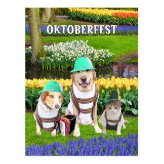 Oktoberfest Postkarten
