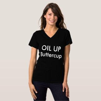 ÖL HERAUF Butterblume T-Shirt