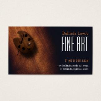 Öl-Maler der Kunst-| Visitenkarte