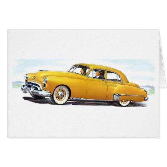 Oldsmobile 1949 98 Futuramic Grußkarte