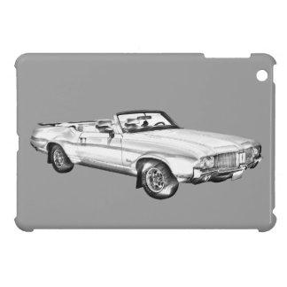 Oldsmobile-Macheten-Oberste Auto-Illustration 1971 iPad Mini Hülle