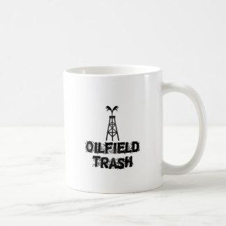 Ölfeld-Abfall Tasse
