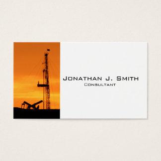 Ölfeldworkover-Service-Anlage, Pumpanlagen Visitenkarte