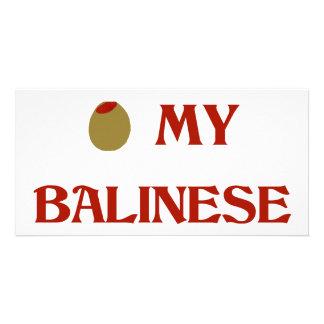 Olive (i-Liebe) mein Balinese Bildkarten