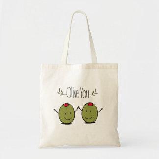 Olive Sie Budget Stoffbeutel