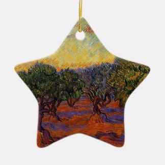 Olivenbäume - Vincent van Gogh Keramik Ornament
