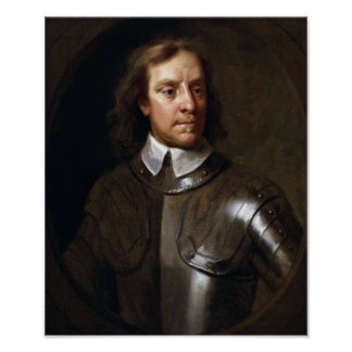 Oliver Cromwell-Malen Poster
