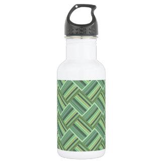 Olivgrünstreifenwebart Trinkflasche