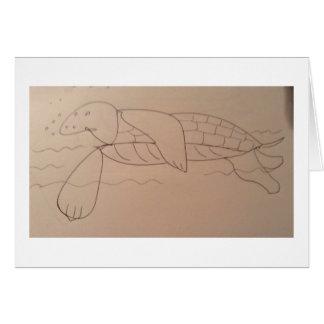 Olly Seeschildkröte, ursprünglich Karte