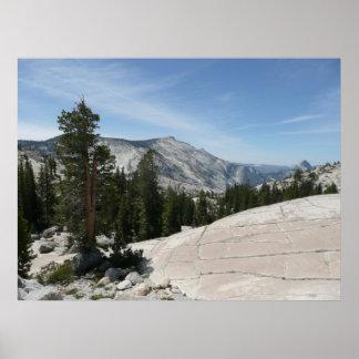 Olmsted Punkt II von Yosemite Nationalpark Poster