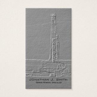 Ölplattform Visitenkarte