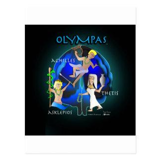 Olympas Gesundheitswesen Postkarte