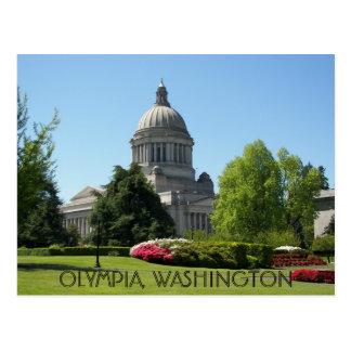Olympia, Washington-Staats-Reise-Foto Postkarte