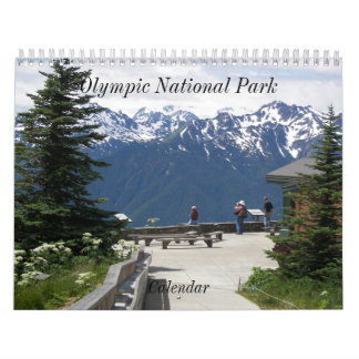 Olympisches Nationalpark-Foto Wandkalender