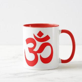 OM (ॐ) - hindisches und buddhistisches Symbol Tasse